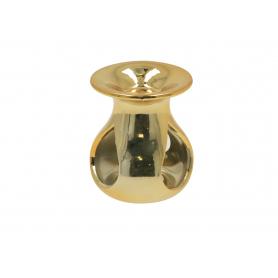 Ceramiczny kominek złoty 9,5x11cm 12308G