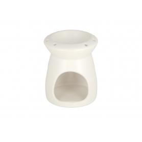 Ceramiczny kominek white 9,3x9,3x11,5cm 12315W