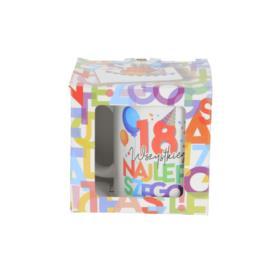 Ceramika kubek URODZINOWE LITERKI 300ml 41880-18