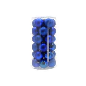 Bożonarodzeniowa bombka 6cm 01606sapphire