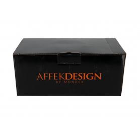 Ceramiczna filiżanka ze spodkiem 400ml Colette 12,5x24cm HTPL9758