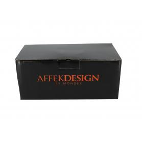 Ceramiczna filiżanka ze spodkiem 400ml Colette 12,5x24cm HTPL9765