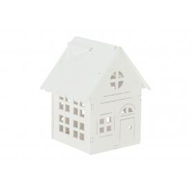 Domek biały zawieszka  HY4169