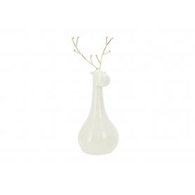 Bożonarodzeniowy Renifer ceramiczny