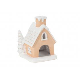 Bożonarodzeniowy Domek ceramiczny