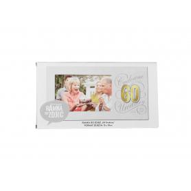 Ramka Harmony Gold 60 Urodziny 843860