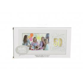 Ramka Harmony Gold  50 Urodziny 843850
