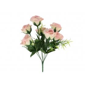 Kwiat sztuczny- bukiet róży x7