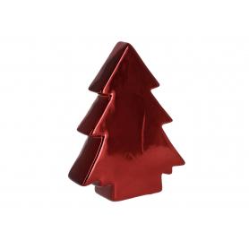 Bożonarodzeniowa Choinka burgundowa duża 34238