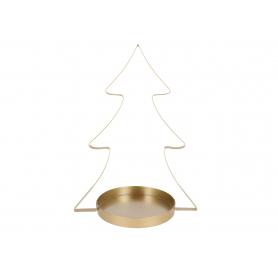 Bożonarodzeniowa choinka złota 99480