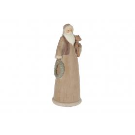 Bożonarodzeniowy Mikołaj duży z misiem 32263