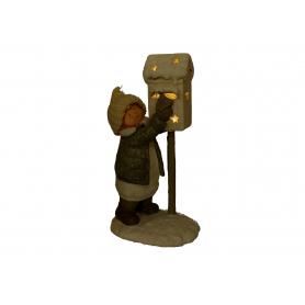 Bożonarodzeniowa figura dziecko dzieckiem 35690
