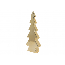 Bożonarodzeniowa choinka złota mała 28830