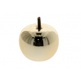 Ceramiczne jabłko złote mini 34254