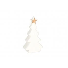 Bożonarodzeniowa Choinka biało-złota 80570