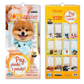 Kalendarz planer PSY 74951