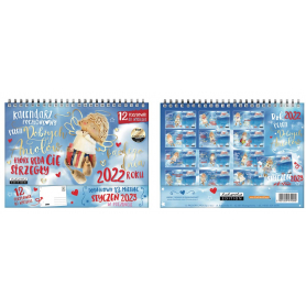 Kalendarz pocztówkowy DOBRYCH ANIOŁÓW 74999