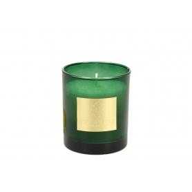Świeca zapachowa Aqua Bergamoa zielona 2889