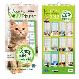 Kalendarz planer KOTY 74937