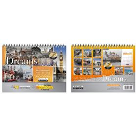 Kalendarz pocztówkowy CITY OF DREAMS 75002