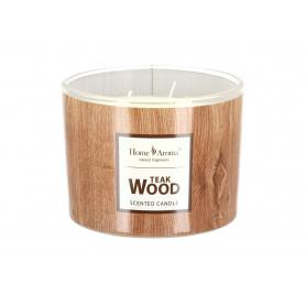 Świeca zapachowa TEAK Wood 24000