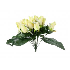 Róża bukiet z dodatkami 35cm 54979 U566