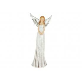 Anioł z sercem srebrnym  4164