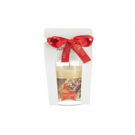 Świeca Cookies glass woskowa 9307-christmas cake