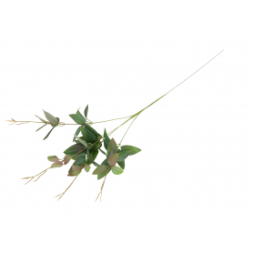 Gałązka barwinka duża  56825-burgundy green