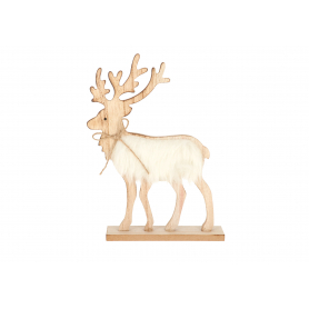 Drewniany renifer HY3226