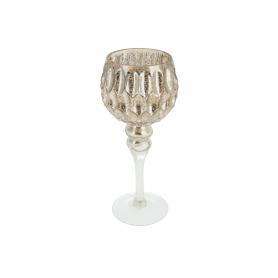 Kielich szampański niski karbowany 13x30 9642