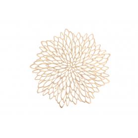 Podkładka kwiat ażur złota