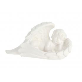Gipsowy anioł skrzydło biały G902b