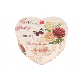 Pudełko kartonowe Flower Box Serce 3szt CBP15-01