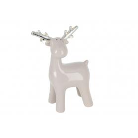 Bożonarodzeniowy Renifer ceramiczny 18114 Jy18G114BS/CS