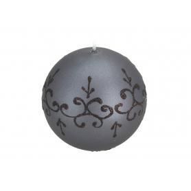 Świeca Tiffany New kula 10 Czarna 6609czarna