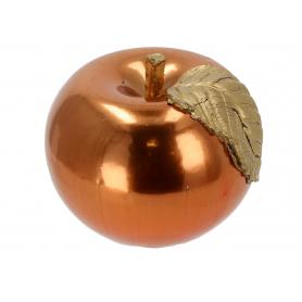 Świeca jabłko lustro 10 6587miedź