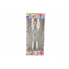 Szklanka do piwa Urodziny 70 980670