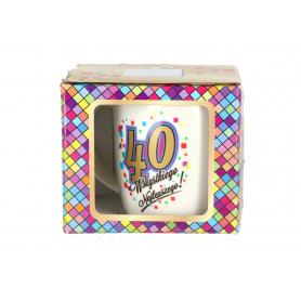 Ceramika kubek NBC Urodzinowa Mozaika 980740