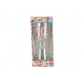 Szklanka do piwa Urodziny 50 980650