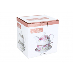 Ceramiczny czajniczek z filiżanką 250ml CR564