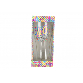 Szklanka do piwa Urodziny 40 980640