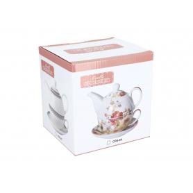 Ceramiczny czajniczek z filiżanką 250ml CR571
