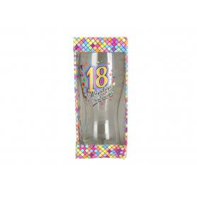Szklanka do piwa Urodziny 18 980618