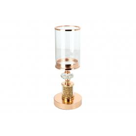 Świecznik 12x38cm Chantal Gold HTRD6528