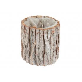 Drewniana osłonka z kory okrągła 1802