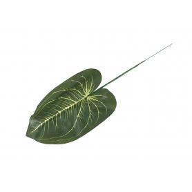 Kwiaty sztuczne liście pothos ciemna zieleń