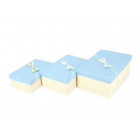Pudełka prezentowe kpl 3szt 31711