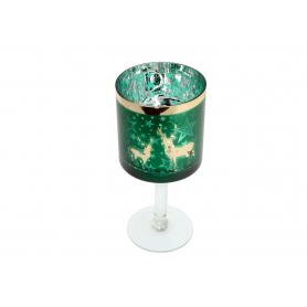 Świecznik szklany Kielich 12998 P505-12998
