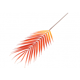 Liść palmy 53041-7 PUK1015